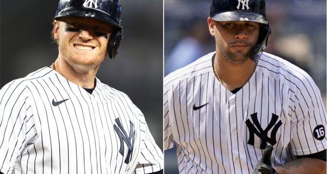 Yankees Clint Frazier Gary Sanchez