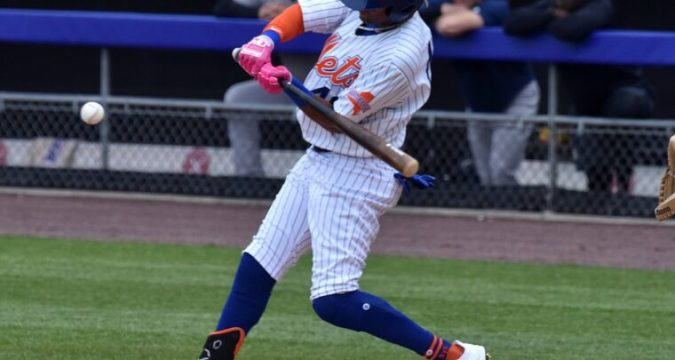 Mason Williams Joins The Mets Bench Mob