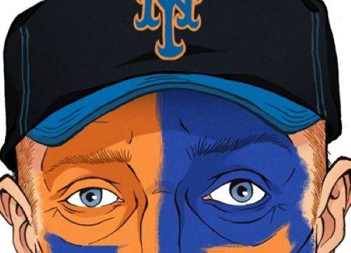 Mets Fan by Cameron Lewis