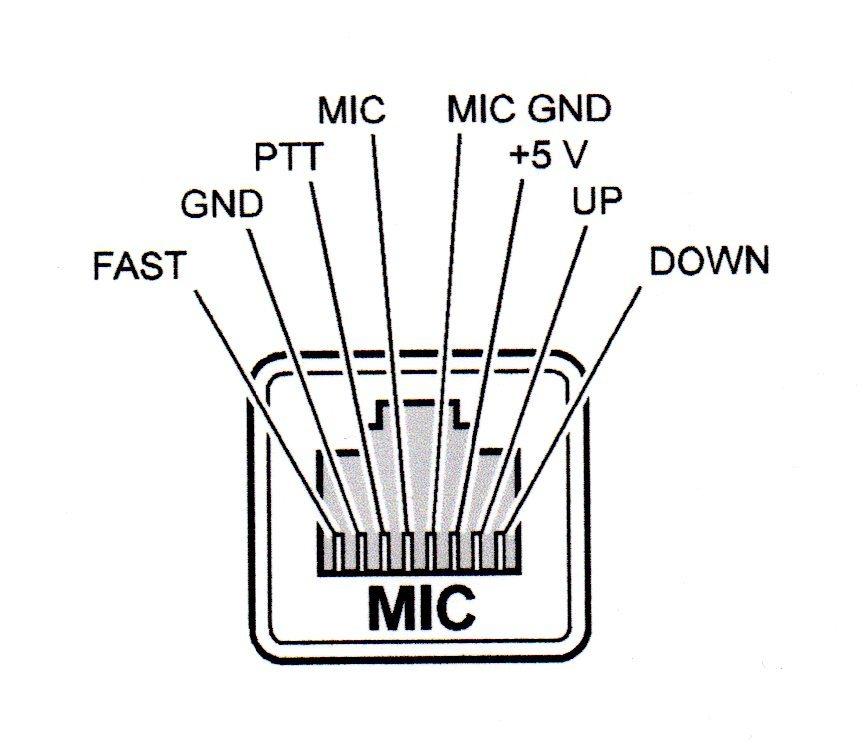 yaesu ft 857 microphone wiring diagram also yaesu microphone wiring