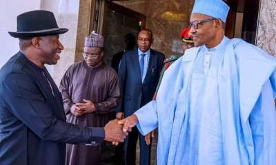Buhari meets Jonathan behind closed doors again