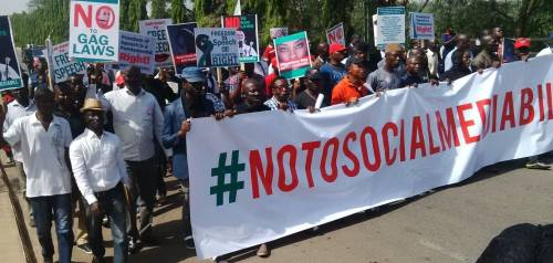 Civil Society Group says 'No to Social Media' Bill public hearing
