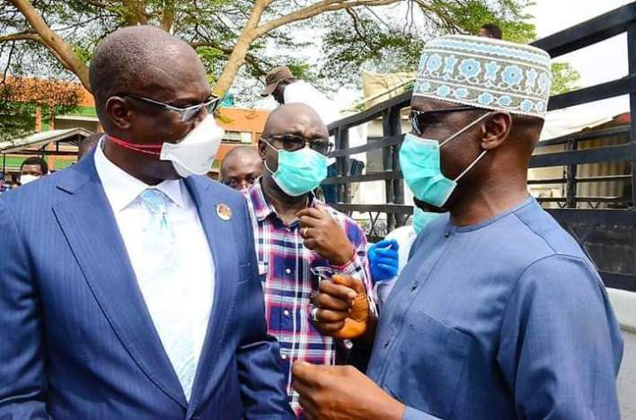 COVID-19: Petroleum Minister, Sylva Hands Over Ambulances to SGF [Photos]