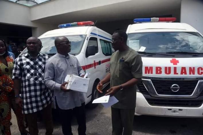 COVID 19: NCDMB, PETAN DONATE AMBULANCES, MEDICAL SUPPLIES TO THREE STATES