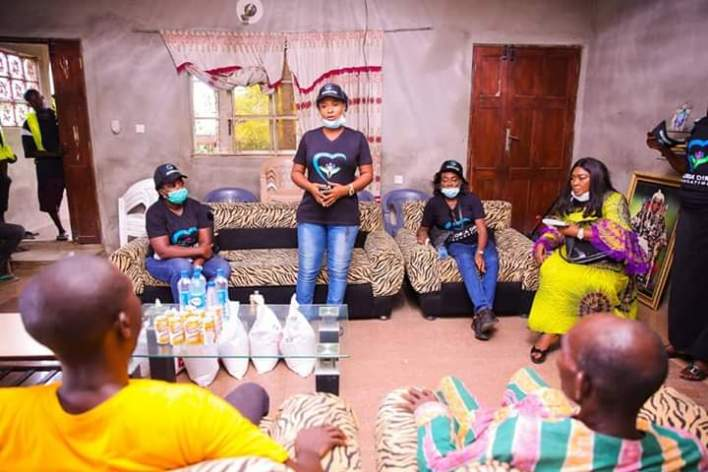 COVID-19: Gloria Diri Foundation Distributes Other Palliatives to Bayelsa Community embarks on sensitization campaign