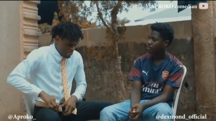 Popular Comedian Aproko as Pastor Pentecost in a new online Comedy Skits, Home Cell