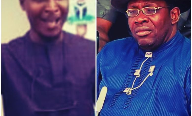 Photo of History will hold me irresponsible, if I don't support Dickson for Senate, Says Comrade Resident