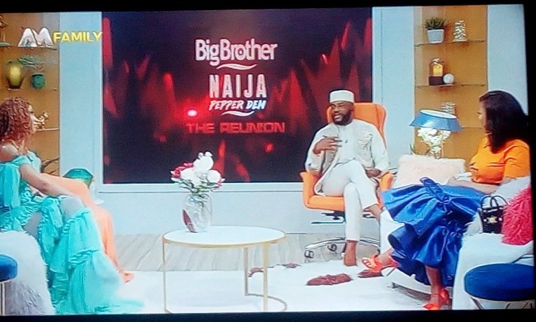 Photo of #BBNaijaReunion: Tacha remains the Queen as Ebuka laughs at Mercy