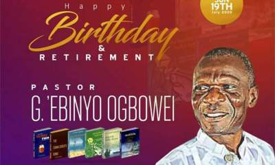 ANA Bayelsa Celebrates Poet as Ogbowei marks 65th birthday