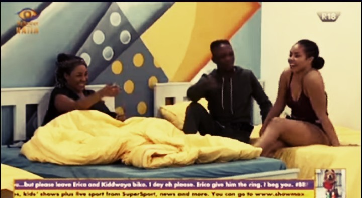 'I will always remain as your Side Chick', Erica tells Laycon #BBNaija [Video]