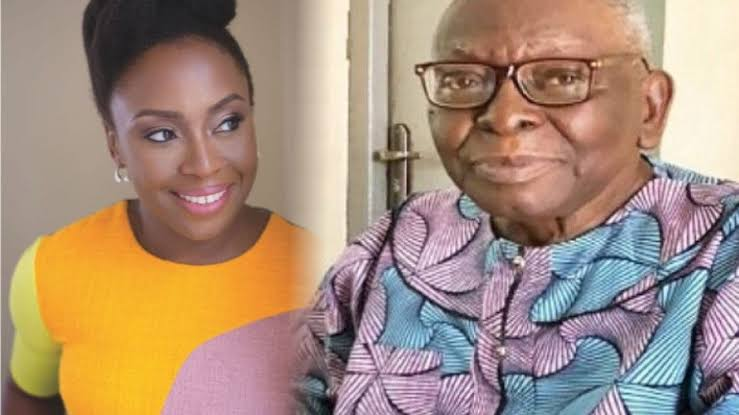 Popular Author Chimamanda Adichie Mourns Father, Says She's Stranded In US