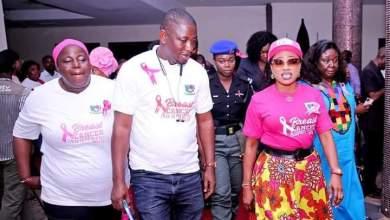 Breast Cancer is preventable, Says Bayelsa First Lady, Gloria Diri