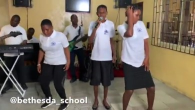 Unbelievable! School of the Blind Performs Tiwa's #Koroba Cover [Video]
