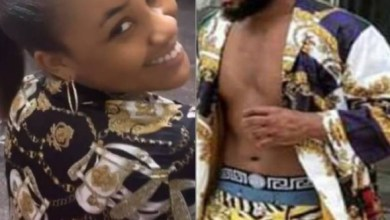 See How Erica Took Kiddwaya's Kimono and turned it to Dress [Photo]