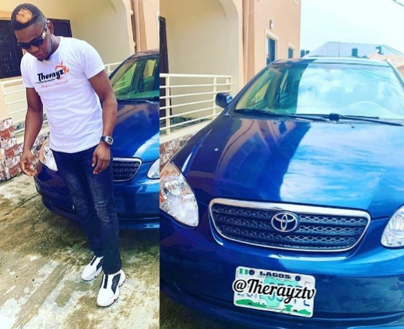 Mercy Eke gifts a new car to her Media Manager on Lowkey [Photo] #BBNaija