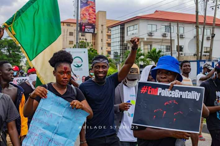 #EndSARS Protest in Yenagoa: Trikytee Denies Requesting For Money To Participate