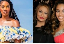 Photo of #ENDSARSNOW: Beyonce's Mother Blasts Tiwa Savage, Says She is not Your Political Leader