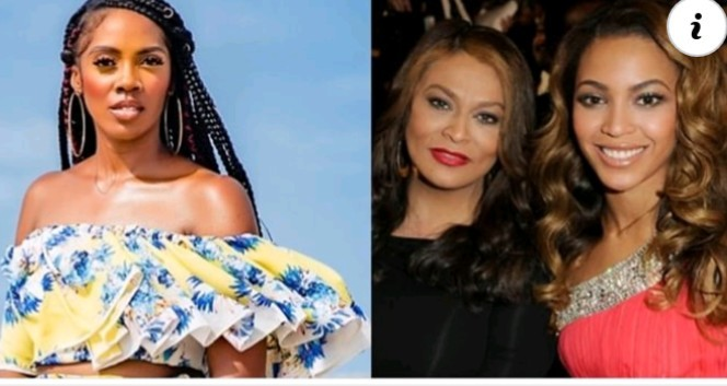 #ENDSARSNOW: Beyonce's Mother Blasts Tiwa Savage, Says She is not Your Political Leader