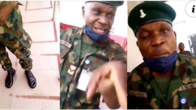 Photo of Army Arrests Personnel For Flogging Woman Who Asked Him to Join ATM Queue [Video]