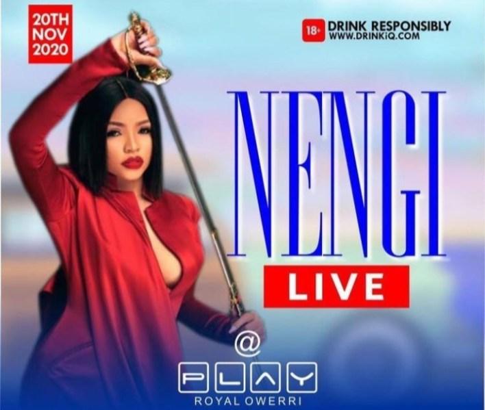 Nengi in Owerri: See How Ninjas followed Her to the Restroom [Video]