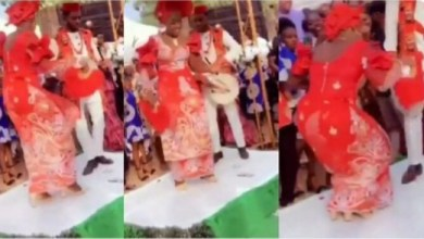 Photo of Bride Brought Her Wedding Reception to a Standstill With Her 'Crazy' Dance Step [Video]