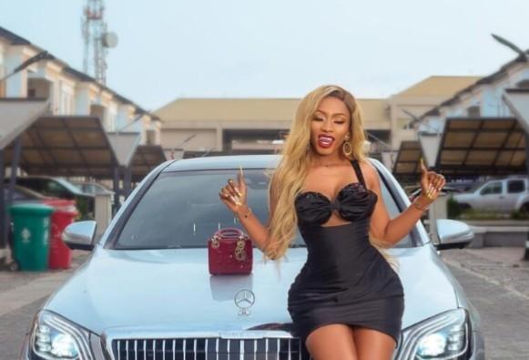 BBNaija Mercy Eke Slays Hot As She Shows Off New Ride