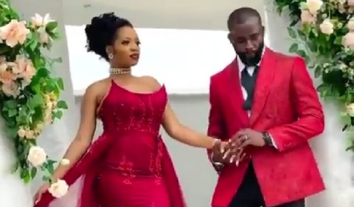 BBNaija Couple Khafi and Husband Steps Out in New Year Style [Video]