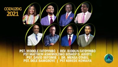 COZA 12 Days of Glory 5 January 2021 - Covenant Day of Kingdom Building