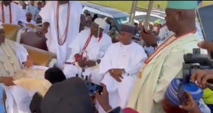 Laycon Gets Chieftaincy Title From Oba of Ipokia Kingdom [Video]