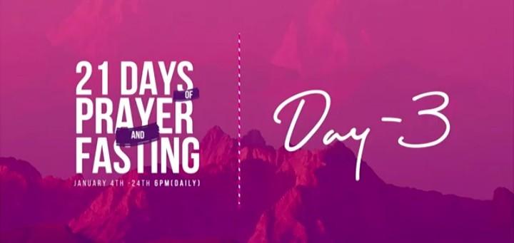 Winners Chapel 21 Days Prayers and Fasting 6 January 2021 - Day 3