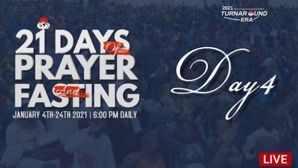 Winners Chapel 21 Days Prayers and Fasting 7 January 2021 - Day 4