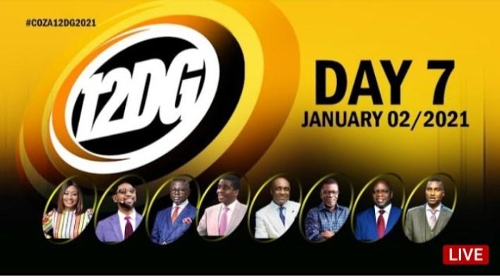 COZA 12 Days of Glory 8 January 2021 - 12DG Day 7