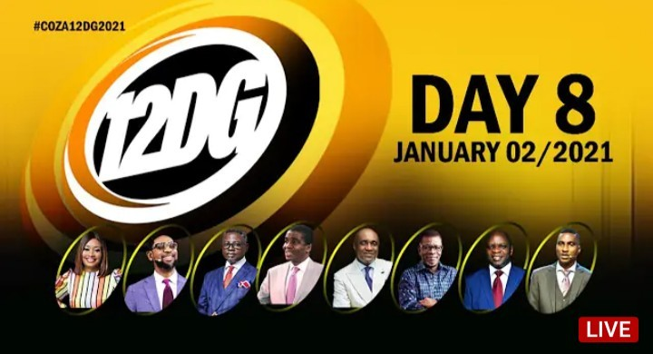 COZA 12 Days of Glory 9 January 2021 - Day 8 Covenant Day of Global Impact