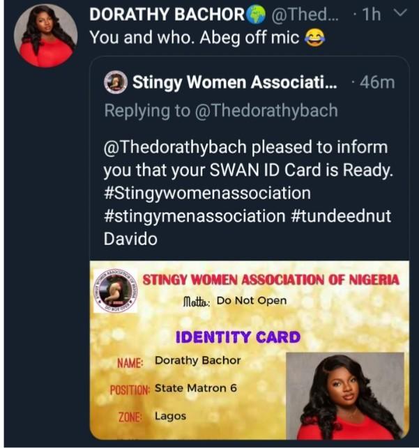 Stingy Women Association Invites Dorathy as State Matron 6