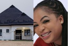 Photo of Actress Kemi Afolabi Completes New House [Picture]