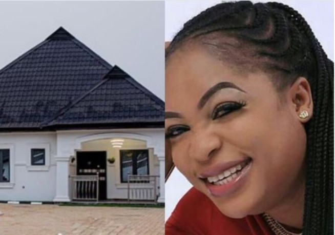 Actress Kemi Afolabi Completes New House [Picture]