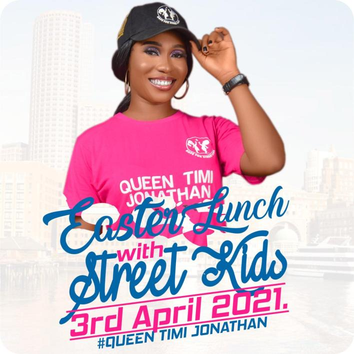 Project Feed Street Kids, I See Children in My Shoes Declares Timi Jonathan