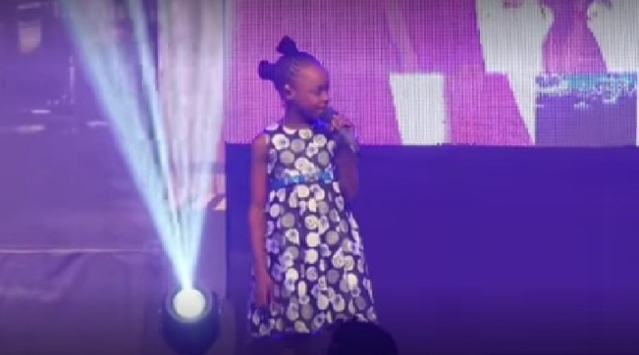 This Little Girl Will Make You Laugh This Sunday Evening [Video]