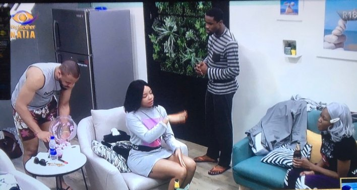 BBNaija Highlights Vee Talks about Her Experience as Guest To Nengi, Ozo
