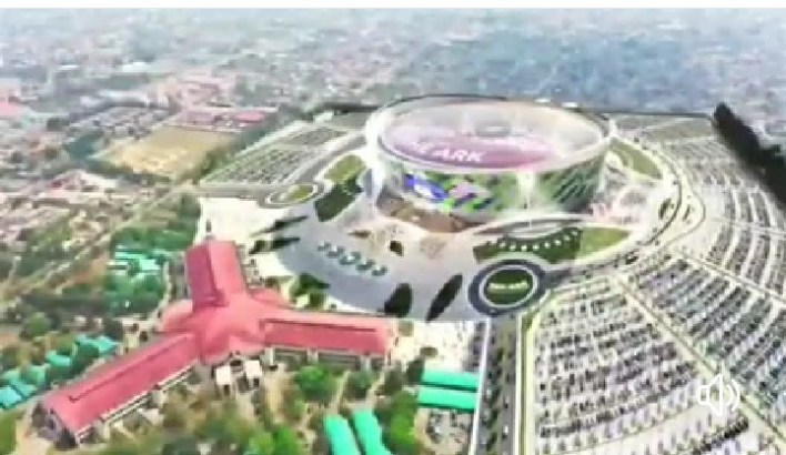 Architectural Design of Winner's Chapel 100,000-Seater Capacity Ark [Video]