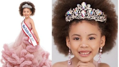 Meet the 5-year old Nigerian girl who won 'Miss Toddler USA 2021