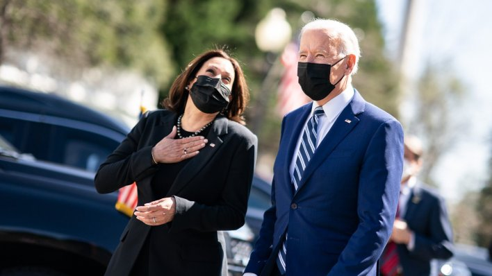 Kamala Harris Celebrates 100 Days in Office With Joe Biden