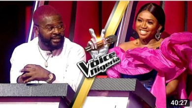 The Voice Nigeria Falz and Waje Battles For Spots in Live Show