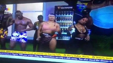 Liqurose Takes Over BBNaija 2021 Jacuzzi Party in The House