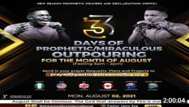 Pastor Jerry Eze Prophetic Prayers for 02 August 2021 [Video]