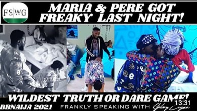 BBNaija Pere and Maria Midnight Games, As Housemates Go Wild