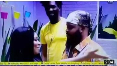BBNaija Queen Kissed Whitemoney in Boma's Presence [Video]