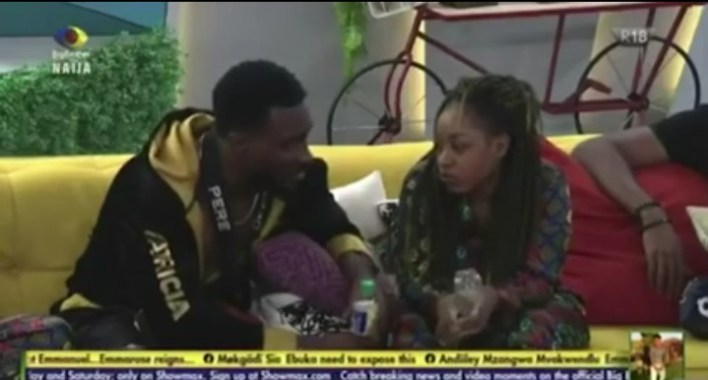 BBNaija Jackie B Dumps Michael, Says She Can't Date Outside House