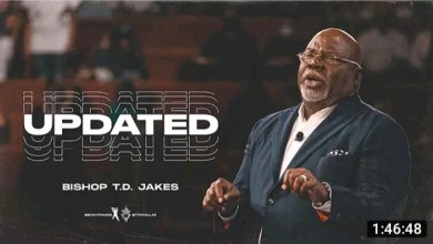 Bishop T D Jakes Live Daily Message 23 August 2021  UPDATED 