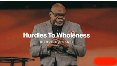 Live Bishop T D Jakes Daily Teachings 24 August 2021  HURDLES TO 